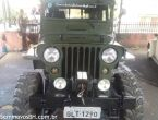 Ford Jeep Willys 2.0 16V fire